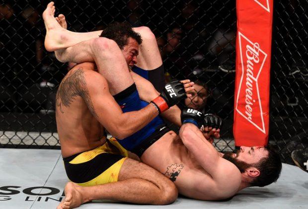 Craig finalizou Frankenstein no UFC Sacramento. Foto: Getty Images