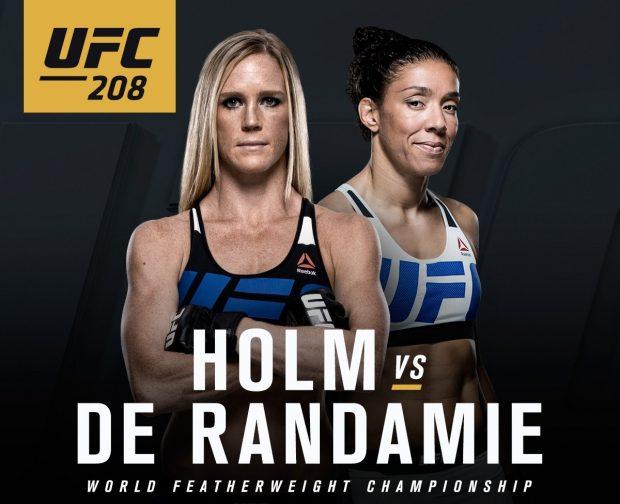Holm x De Randamie farão primeira luta do peso pena feminino FOTO: Reprodução