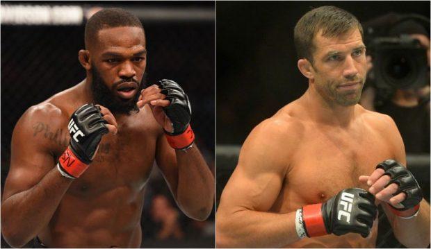 Jones (esq) e Rockhold (dir) devem se enfrentar em torneio de luta agarrada. (FOTO: Produção SUPER LUTAS)