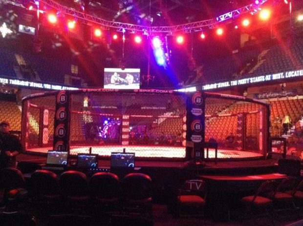 Bellator realiza maior edição de sua história neste sábado. Foto: Reprodução / Twitter / Bellator MMA