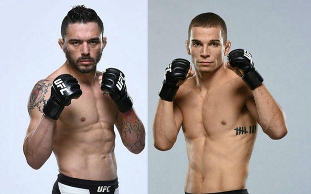 R. Jason (esq) luta contra J. Kennedy (FOTO: Divulgação UFC Brasil)