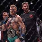 McGregor (esq) com John Kavanagh (dir) (FOTO: Sportsfile/Corbis via Getty Images)