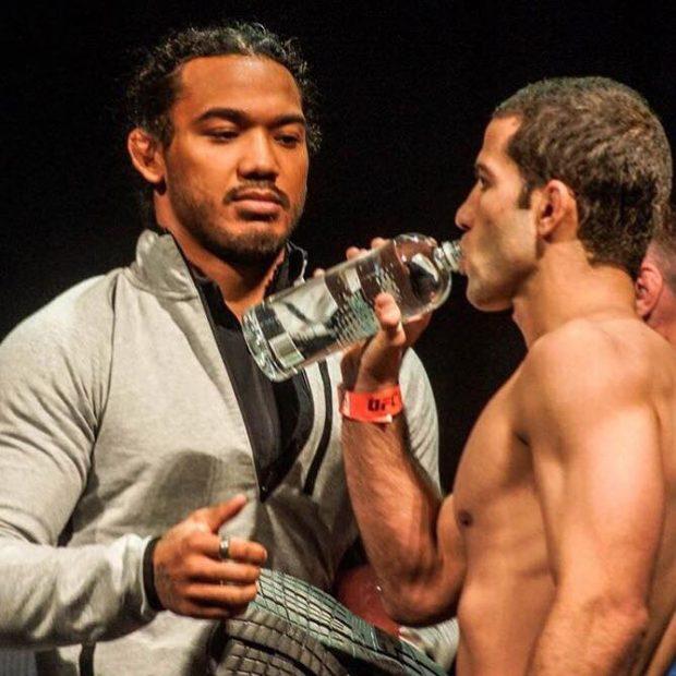 Tanquinho confia em treinos com Ben Henderson e lutadores da MMA Lab (FOTO: Reprodução)