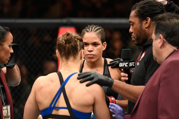 Amanda pediu desculpas por declarações sobre Ronda. (Foto: Getty Images)