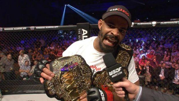 D. Branch foi campeão de duas categorias (FOTO: Reprodução)