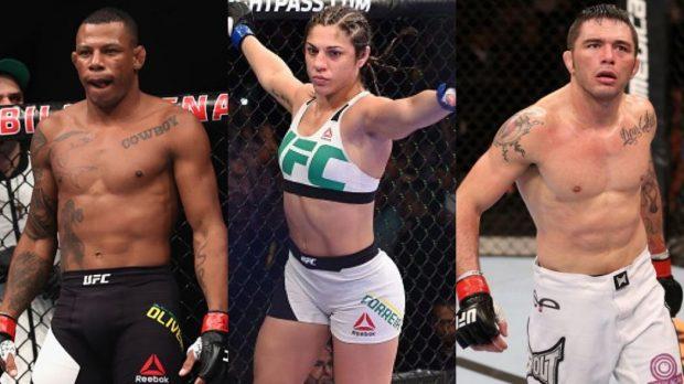 Cowboy, Bethe e Jason também estarão em ação. (Foto: UFC/Produção: SUPER LUTAS)
