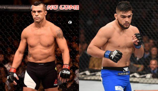 Choque de gerações na luta principal do UFC Fortaleza (Foto: UFC/Produção: SUPER LUTAS)