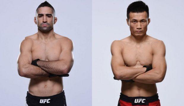 Lamas (esq) e Sung Jung (dir) devem se enfrentar em julho (Fotos: UFC/Montagem: Super Lutas)
