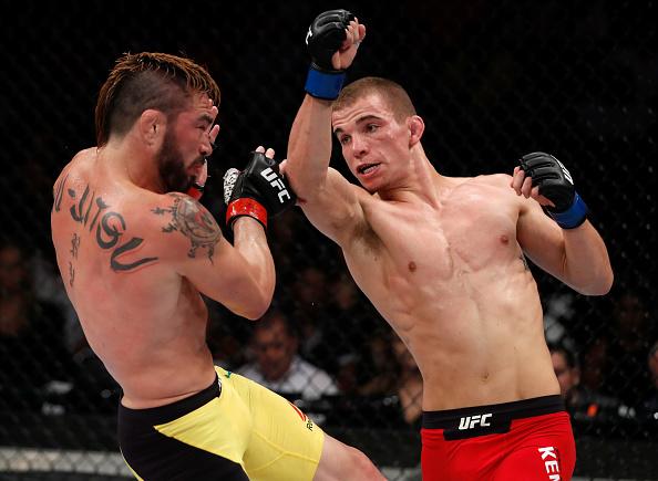 Jason foi superado por Kennedy. (Foto: Buda Mendes/UFC)