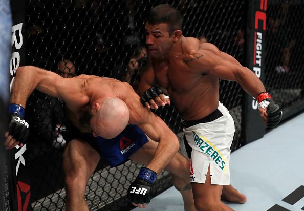 Trator não deu chances para Burkman. (Foto: Buda Mendes/ UFC)