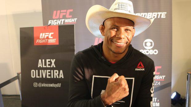 Cowboy renovou com o Ultimate (Foto: Super Lutas/Laerte Viana)