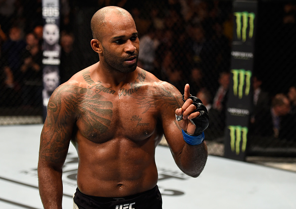 Manuwa quer disputar o cinturão do UFC (Foto: Josh Hedges/UFC)