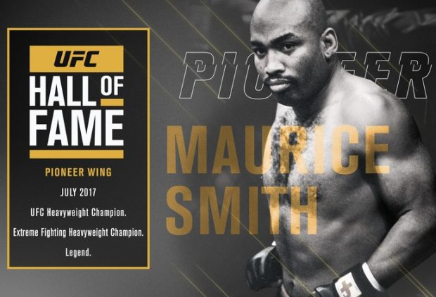 Smith fará parte do Hall da Fama do UFC. (Foto: Divulgação)