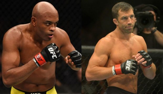 Anderson (esq) x Rockhold (dir) pode rolar no Rio de Janeiro (Fotos: UFC/Montagem: Super Lutas)