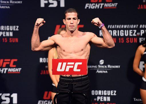 Tanquinho fará sua terceira luta no UFC (Foto: Jeff Bottari/UFC)
