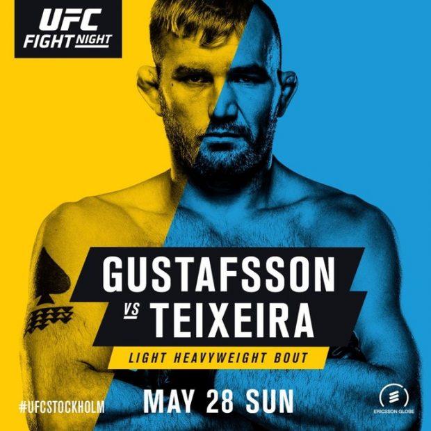 Pôster oficial do UFC Estocolmo (Foto: Divulgação)