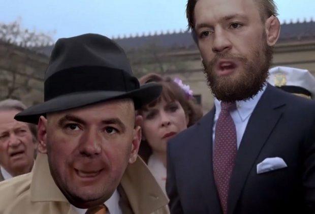Paródia mostra McGregor como Rocky (Foto: Reprodução)