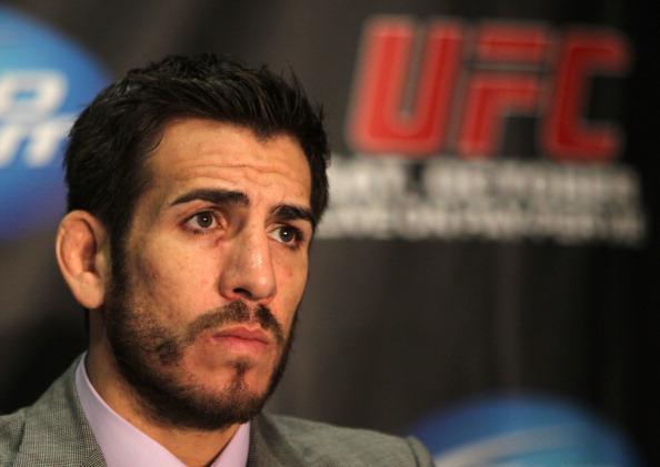 K. Florian não competia desde 2011 (Foto: Josh Hedges/UFC)