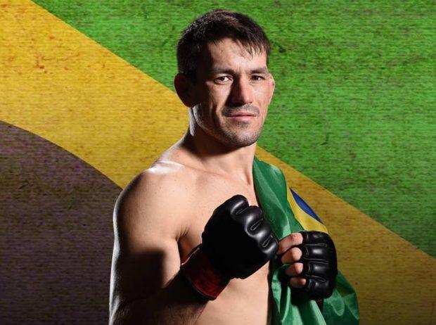 Demian quer disputar o cinturão dos meio-médios (Foto: Facebook/Arquivo Pessoal)