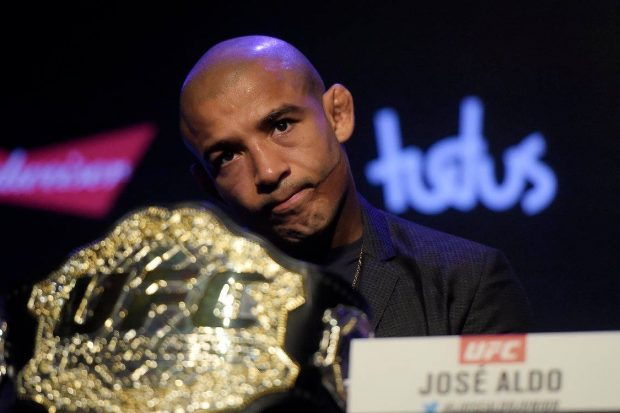 Aldo garantiu que rivalidade com McGregor é coisa do passado (Foto: Facebook/UFC)