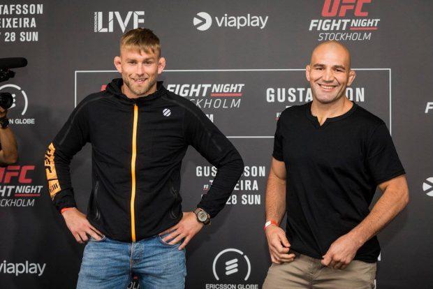 Gustafsson é favorito contra Glover (Foto: Facebook/UFC)