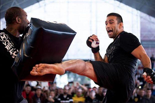F. Werdum (dir) volta a lutar no UFC 213 (Foto: Divulgação/UFC)