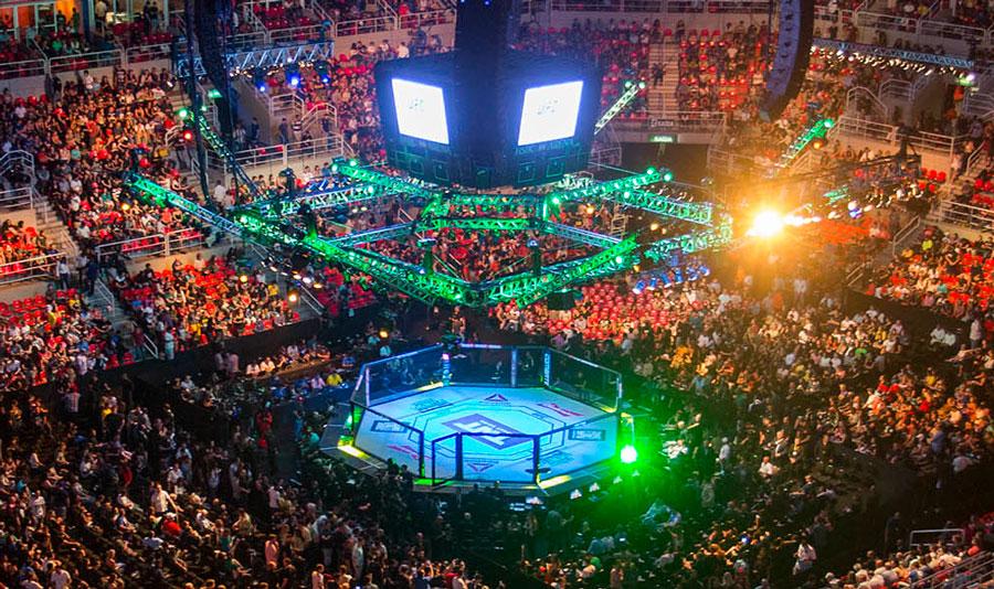 UFC 211 agita noite deste sábado. Foto: Daniel Ramalho/Inovafoto/UFC