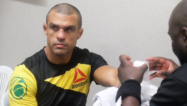 Belfort pode estar se despedindo do UFC (Foto: Facebook /UFC)