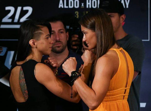 Gadelha e Karolina já disputaram o cinturão (Foto: Facebook /UFC)