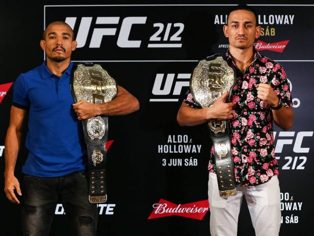 Aldo é favorito contra Holloway (Foto: Facebook /UFC)