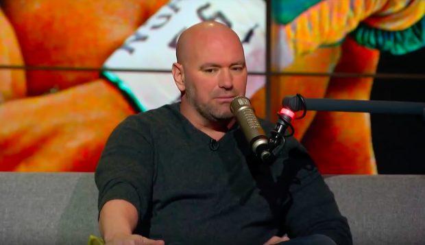 Dana está insatisfeito com escolha de Johnson (Foto: Reprodução Youtube-theherd)