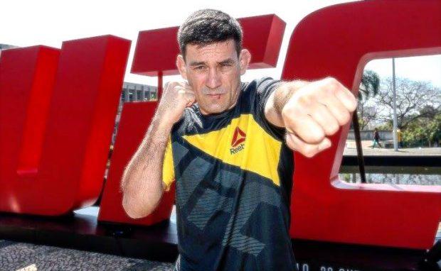 D. Maia (foto) luta em São Paulo (Foto: Reprodução Facebook UFC)