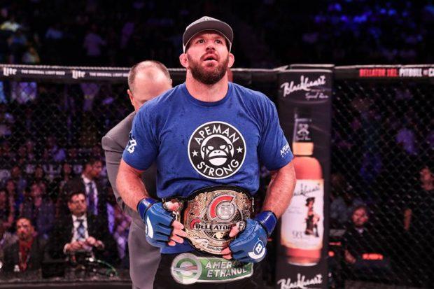 R. Bader é o novo campeão do Bellator (Foto: Reprodução/Facebook/Bellator MMA)
