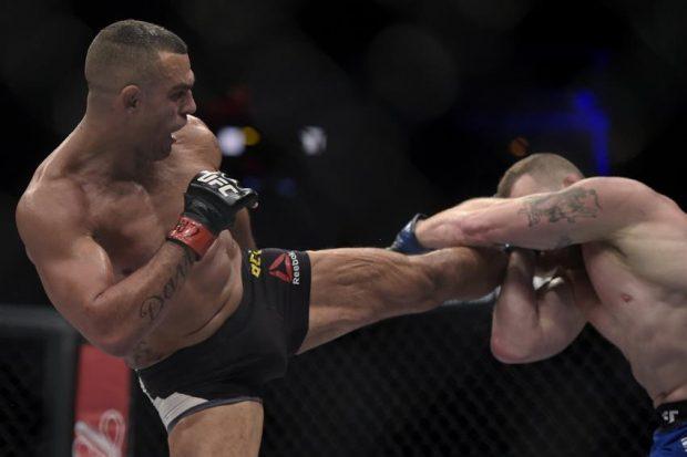 Belfort venceu Marquardt por pontos no UFC 212 (Foto: Inovafoto)