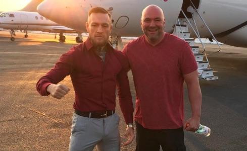 Dana admitiu que McGregor pode não voltar ao UFC (Foto: Reprodução/Instagram DanaWhite)