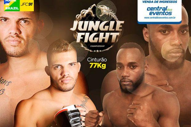 Jungle Fight desembarca em BH para edição 91. Foto: Divulgação