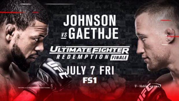 Johnson e Gaethje lideram o TUF 25 Finale (Foto: Reprodução - Twitter FoxSports)