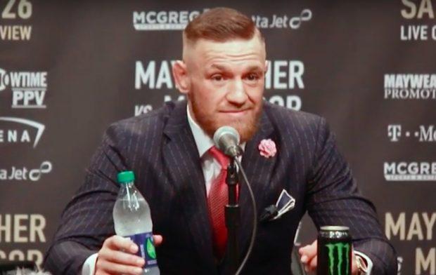 McGregor criticou A. Fili Foto: Reprodução/Youtube UFC)