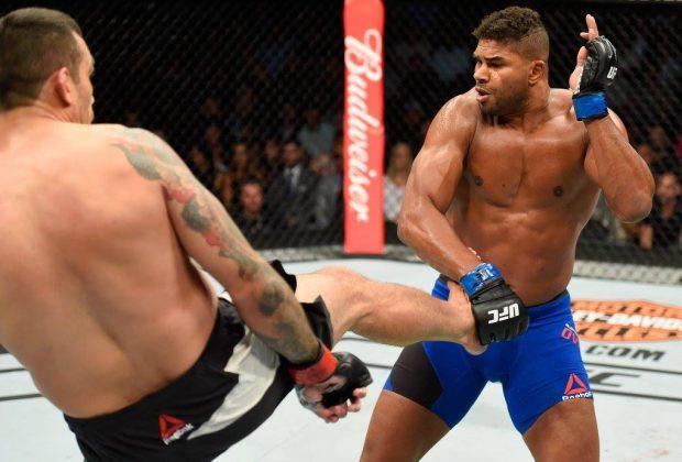 Overeem venceu Werdum por pontos (Foto: Reprodução/ Facebook UFC)