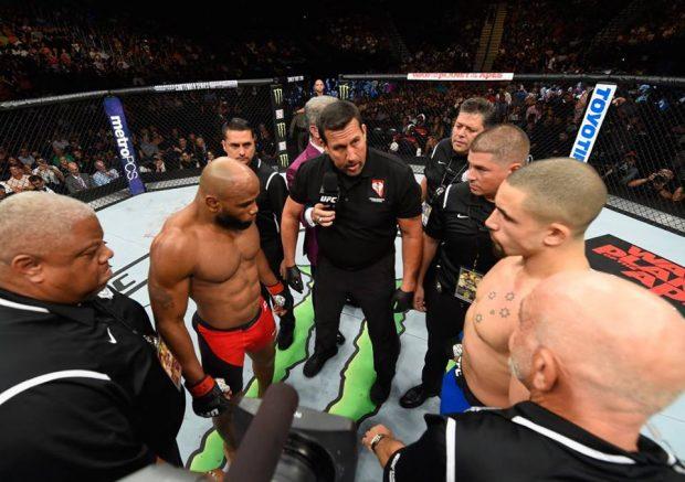 Romero x Whittaker: luta principal do UFC 213 (Foto: Reprodução/Facebook/UFC)