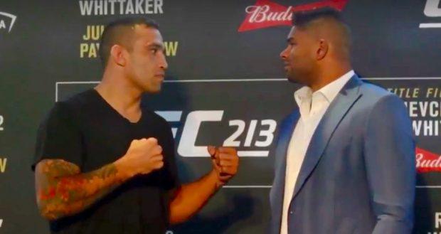 Werdum e Overeem já se enfrentam duas vezes (Foto: Reprodução/Youtube/UFC)