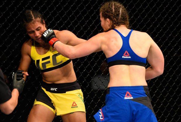 Amanda recebeu 180 dias de suspensão (Foto: Reprodução/Facebook UFC)