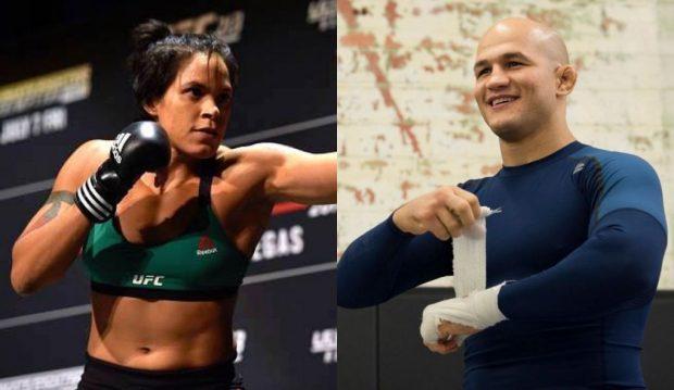 Amanda e Cigano vão lutar no UFC 215 (Foto: Reprodução/Facebook/Montagem SL)