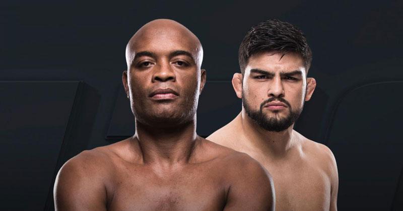 Anderson enfrenta K. Gastelum na China. Foto: Reprodução / UFC
