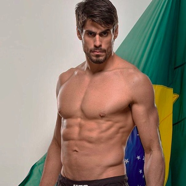 Cara de Sapato luta no UFC São Paulo (Foto: Reprodução Instagram caradesapatojr)