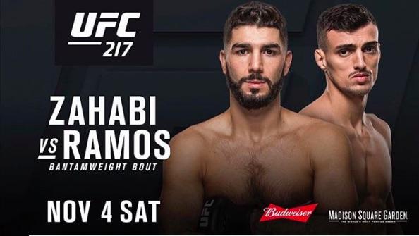 Duelo irá acontecer dia 4 de novembro (Foto:Reprodução/Divulgação/UFC)