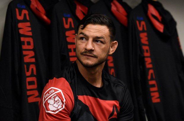 Swanson ironizou possível confronto com Aldo (Foto: Reprodução/Facebook UFC)