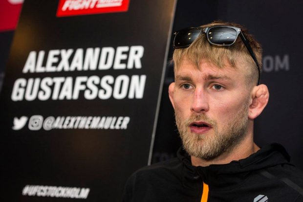 Gustafsson quer revanche com Jones (Reprodução/Facebook UFC)