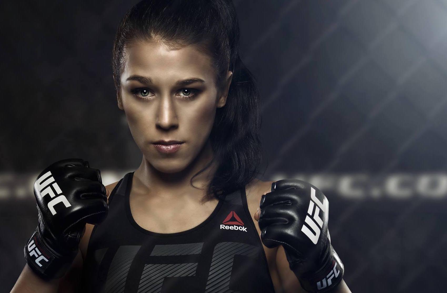 Próxima oponente de J. Jedrzejczyk é Tecia Torres no UFC On FOX 28 (Foto: Reproducao/Facebook Joanna Jedrzejczyk)