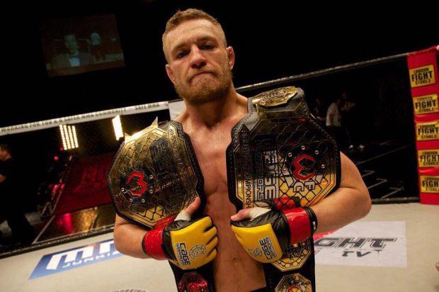 McGregor venceu 12 lutas antes de entrar no UFC (Foto:Reprodução/Facebook UFC)